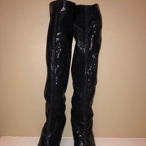 Bruno Magli Shoes - Bruno Magli Black Knee High Boots